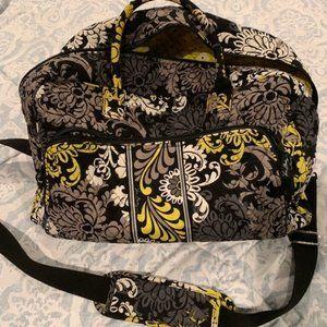 VERA BRADLEY BAROQUE Quilted Weekender Bag